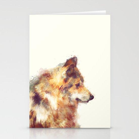 Wolf // True Stationery Cards