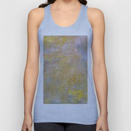 Sea-Roses (Yellow Nirwana) by Claude Monet Unisex Tank Top