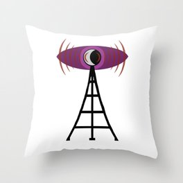 Good night, Nightvale Throw Pillow