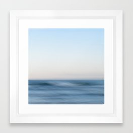 Ocean Whispers Framed Art Print