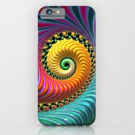 Tropical Punch - Fractal Art iPhone Case