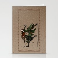 legolas Stationery Cards featuring Pure Elven Elegance by wolfanita