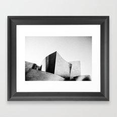 The Walt Disney Concert Hall Framed Art Print