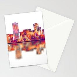 Davao City Philippines Skyline Stationery Cards
