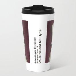 Robert Louis Stevenson, Dr. Jekyll and Mr. Hyde - Minimalist Literary Design Travel Mug