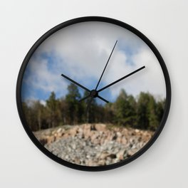 Gatineau Park, Quebec, Canada Wall Clock
