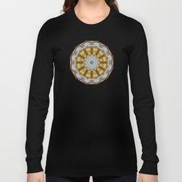 Colors of Rust / mandala-style-rust Long Sleeve T-shirt