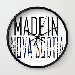 Made in Nova Scotia Wall Clock
