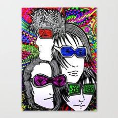 Face your brain Canvas Print