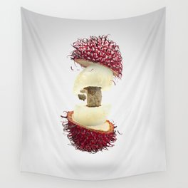 Flying Rambutan Wall Tapestry