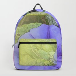 Serenity Prayer Morning Glories Glow Backpack