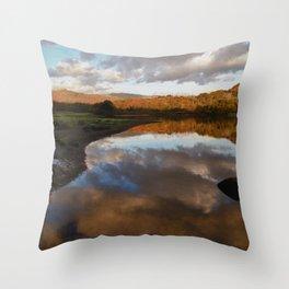 Rydal Water Throw Pillow