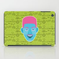 fresh prince iPad Cases featuring Will - The fresh prince of Bel-Air by Kuki