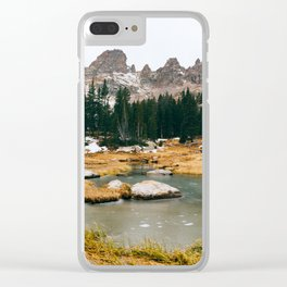 Gore Range – Rocky Mountains Clear iPhone Case