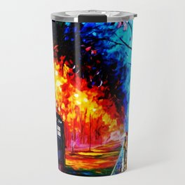 Tardis Style Travel Mug