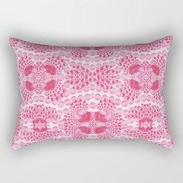 pink jewels Rectangular Pillow