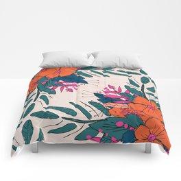 Floral Escape Comforters