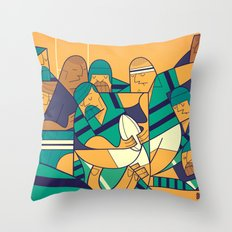 Rugby Throw Pillow