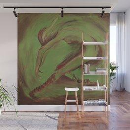 Dancer green Wall Mural