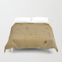 Peace Grafitti Duvet Cover