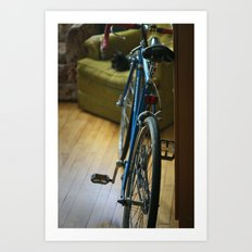 Bike Minneapolis Art Print
