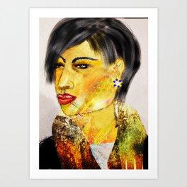 Face It 3 Art Print