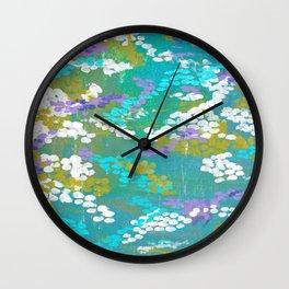 Lombard Aqua Wall Clock