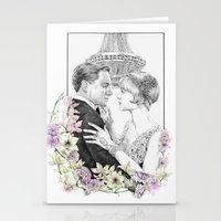 the great gatsby Stationery Cards featuring The Great Gatsby by stardustsoul
