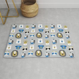 Animals Prints patterns Rug