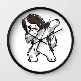 Funny Dabbing Havanese Dog Dab Dance Wall Clock
