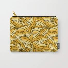 PRIMROSE YELLOW LEAVES B (abstract flowers nature) Carry-All Pouch