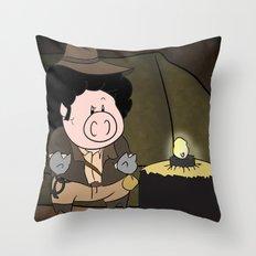 Indiana Pork Throw Pillow