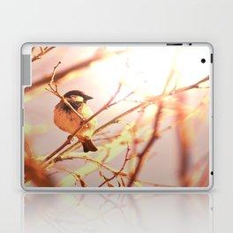 Morning sparrow Laptop & iPad Skin