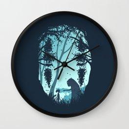 Lonely Spirit Spirited Away Wall Clock