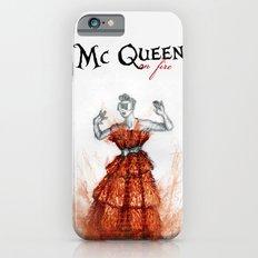 Mc Queen on fire Slim Case iPhone 6s