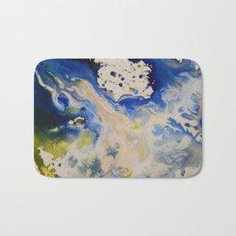 Liquid Colour Splashes Bath Mat