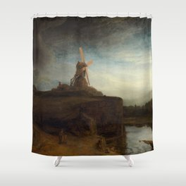 Rembrandt - The Mill Shower Curtain