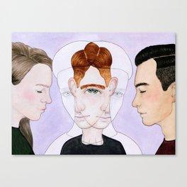 Bisexual Invisibility #2 Canvas Print