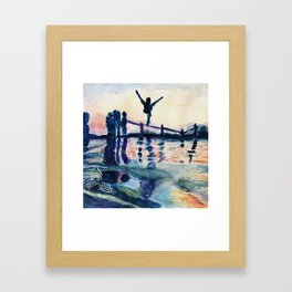 Summer Splash Framed Art Print