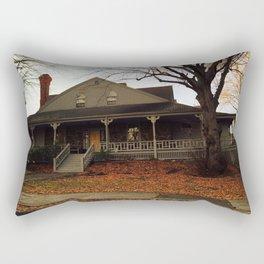 Nahant house on the ocean Rectangular Pillow