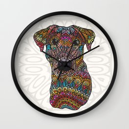 Colorful Roxy Wall Clock