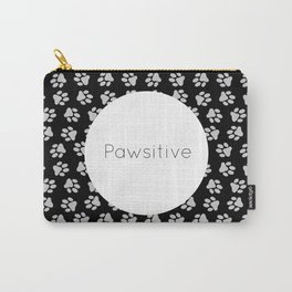 Pawsitive Paws - dog lover animals pattern Carry-All Pouch