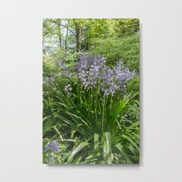 Woodland Bells Metal Print
