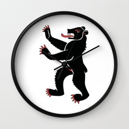 First Beast of Switzerland Wall Clock