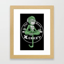 The Jade Monkey Framed Art Print
