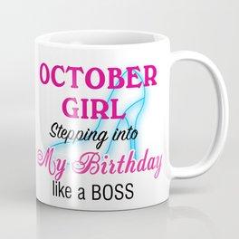 October Girl Birthday Coffee Mug