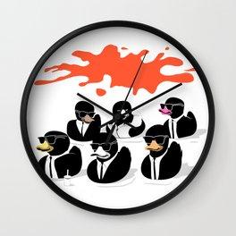 Reservoir Ducks Wall Clock