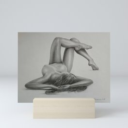Nude№363 Mini Art Print