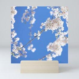 White Blossoms Mini Art Print