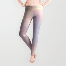 Cotton Candy Like Sky Leggings